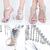 Silver Rhinestone Crystal Jeweled Open Toe High Heel Stiletto Dress Prom Sandals | eBay