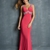 Gorgeous V-neck Beadings Open Back Long Prom Dress PD11391