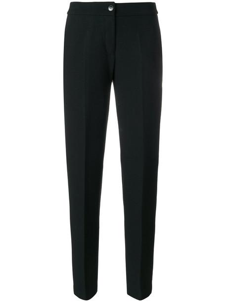 ARMANI JEANS women spandex black pants