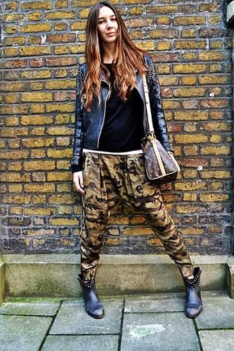 Zara camouflage hose