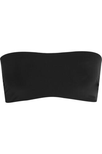 bra bandeau bra lace black underwear