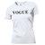 VOGUE Fashion T-shirt Top White Black Retro Hipster PARIS LONDON Style S-XL | eBay