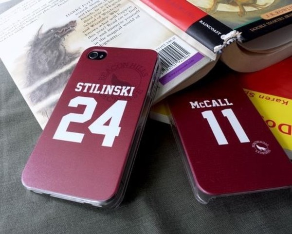 phone cover iphone case teen wolf stiles stilinski lahey mccall teenagers burgundy football shirt players shirt writing number tee