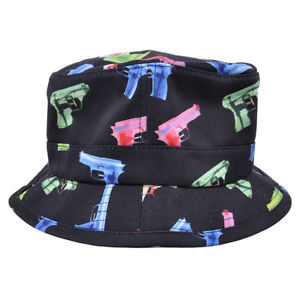 Primitive Water Gun 90s Toy Game Summer Outdoor Fisherman Fashion Bucket Hat