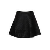 skirt,worst,behavior,leather,quilted,black,mini,vanityv,vanity row,dress to kill,rock,vogue