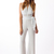 White Jump Suits/Rompers - Deep V Jumpsuit | UsTrendy