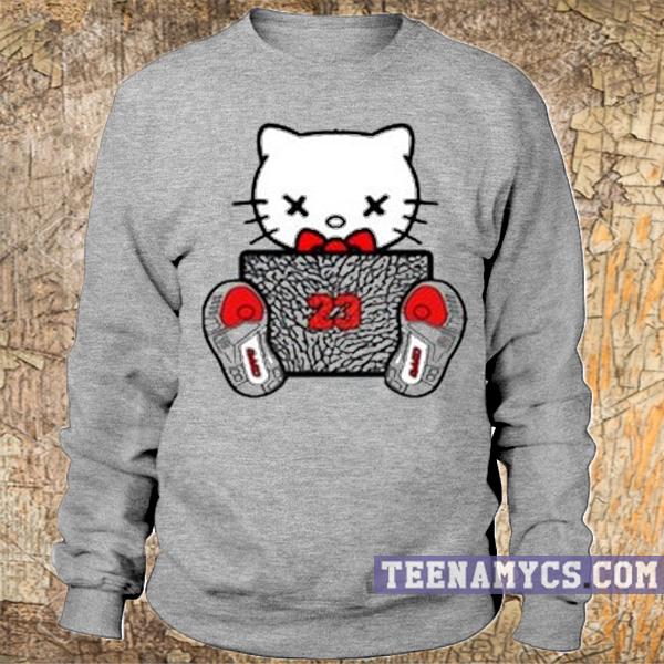 Hello Kitty 23 Sweatshirt - teenamycs
