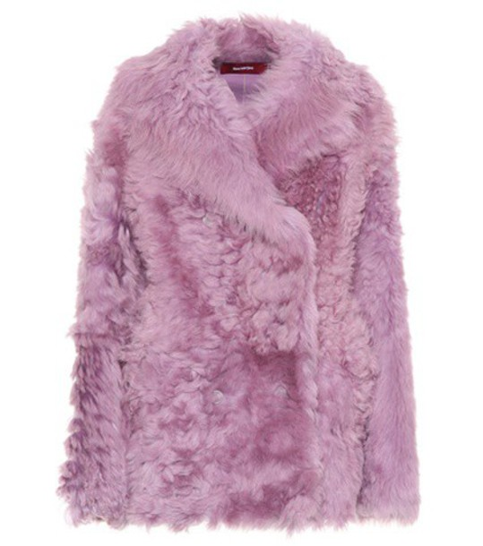 SIES MARJAN coat purple
