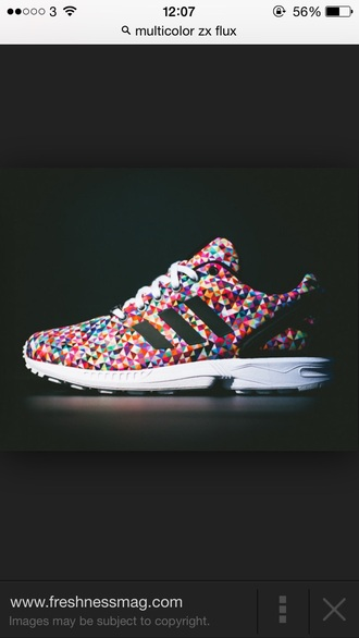shoes trainers multicoloured adidas shoes