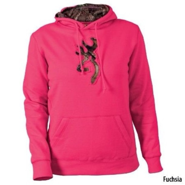 sweater, pink, camouflage, sweatshirt, camouflage, browning