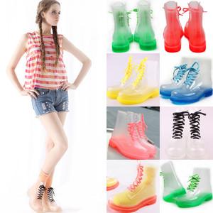 Transparent Rain Boots - Boot Hto