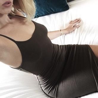 dress black dress black red lime sunday