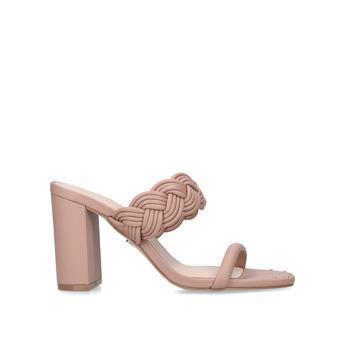 KG Kurt Geiger Flow - Nude Block Heel Sandals