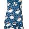 Marni pirouette print blouse, women's, size: 40, blue, cotton