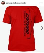 shirt,cars camaros