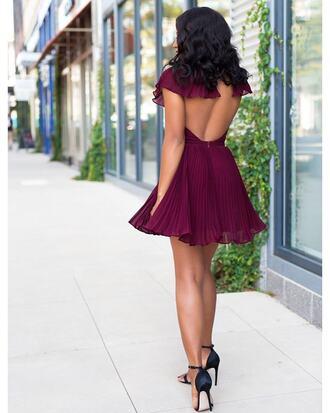 dress open back open back dresses backless backless dress burgundy burgundy dress sandals sandal heels high heel sandals sexy sexy dress