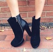 black,black heels,heels,high heels,bottine,snake print pants