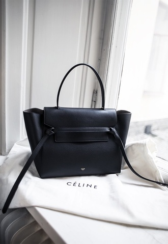 bag black celine