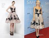 dress,zuhair murad,lace,julianne hough
