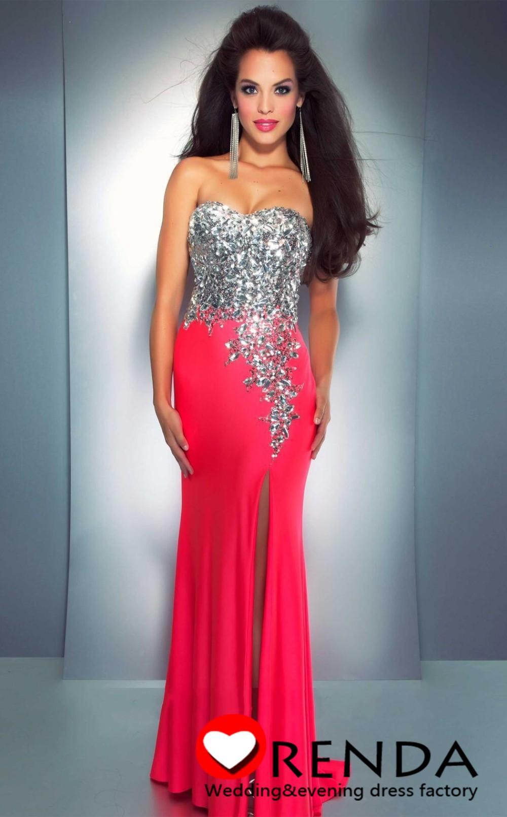Hot Selling Sweetheart Hot Pink Sequins Stone Bra Corset Chiffon ...