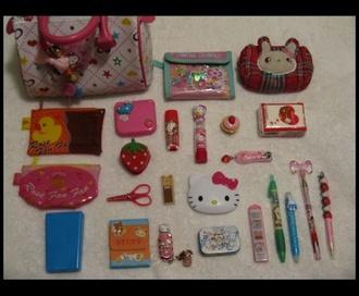 jewels kawaii back to school pencils bag kawaii bag