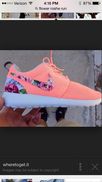 floral shoes nike roshe run nike roshe run flowers floral nike roshe shoes