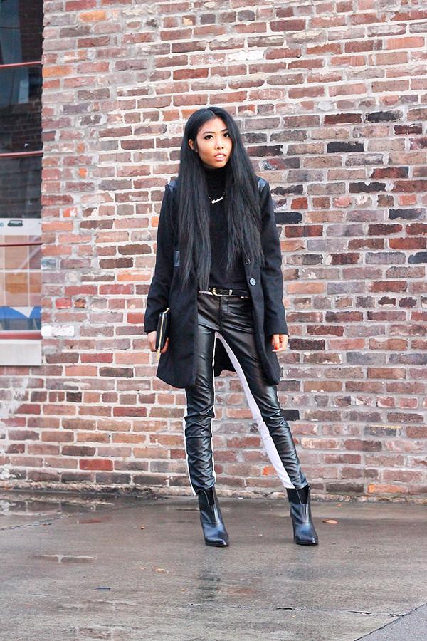 fashion of a novice coat pants shoes