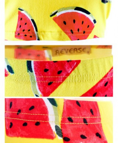 Watermelon Printed Tank and Skirt - Skirts - Bottoms - Clothing