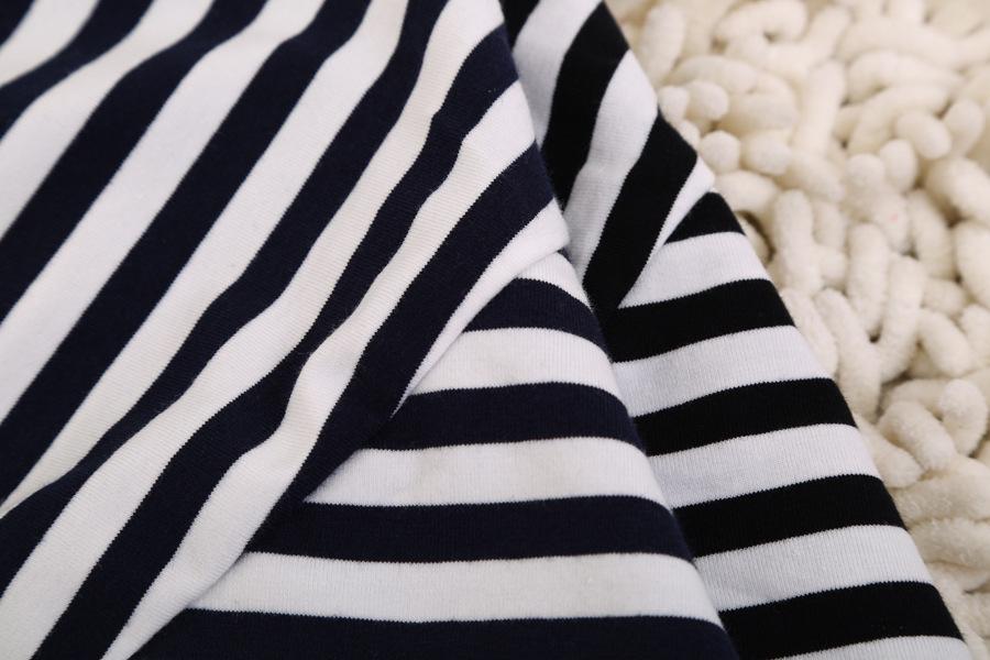 Black White Striped Spaghetti Strap Vest - Sheinside.com