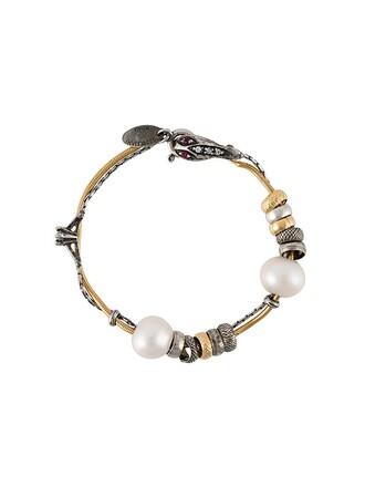 pearl silver metallic jewels