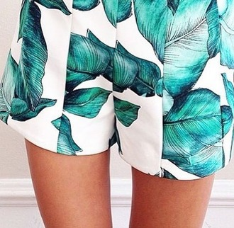 shorts short high wasted short prints