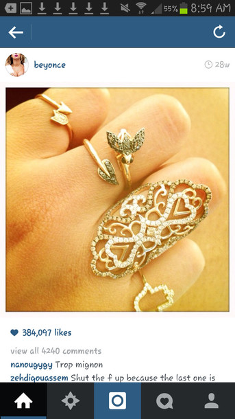jewels beyonce ring