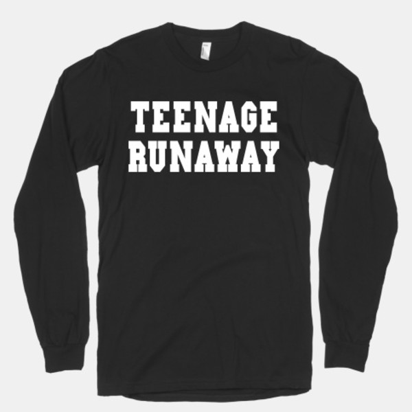 sweater teenage runaway