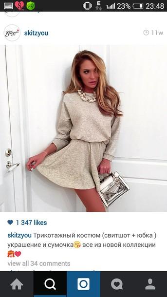 dress knitwear dress knitwear beige
