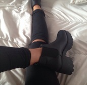 shoes,jeans,black boots,ancle boots,black shoes,black,cardigan,leather,platform shoes,heel boots,boots,black heeled boots,ankle boots,grunge,cute,tumblr,black booties,chelsea,mid high,black shoes heels,black heels,grunge shoes,black grunge shoes