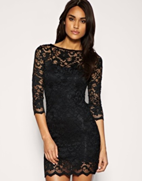 Dress Lacr Black Lace Dress Little Black Dress Light Pink Lace