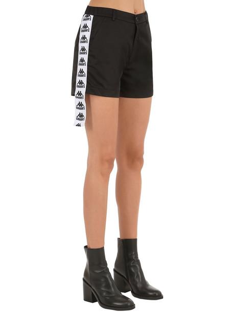 CHARM'S Kappa Track Shorts in black
