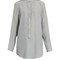 Christina silk-crepe shirt