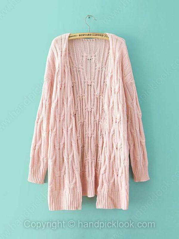 top cardigan pink top