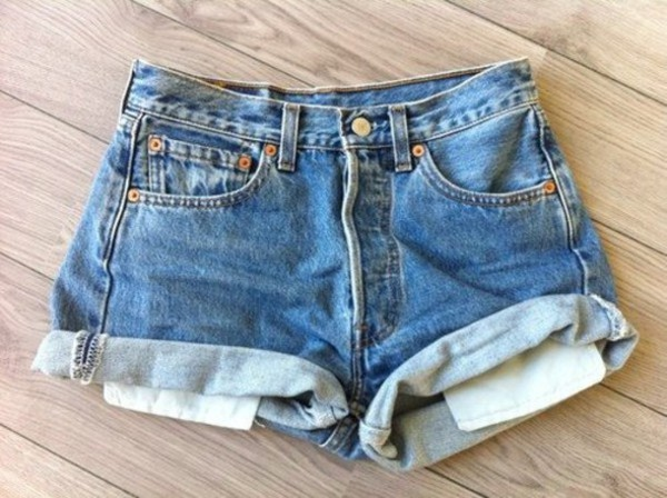 shorts denim light blue streetstyle fashion