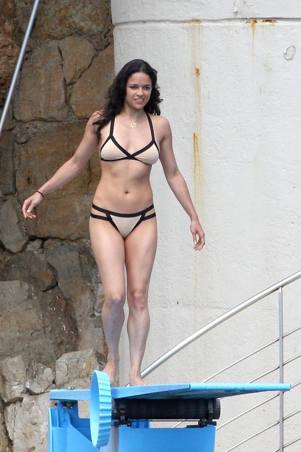 Michelle Rodriguez Bikini September 2017