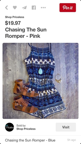 romper jumpsuit summer dress dress patterned dress tribal pattern summer outfits nice shoes