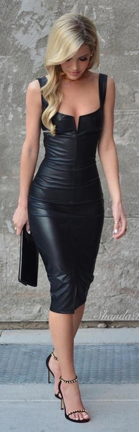 Leather Dress for Wedding