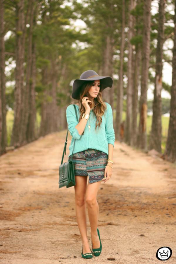 fashion coolture sweater skirt bag jewels