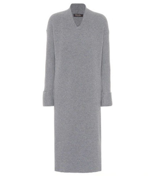 Loro Piana dress grey