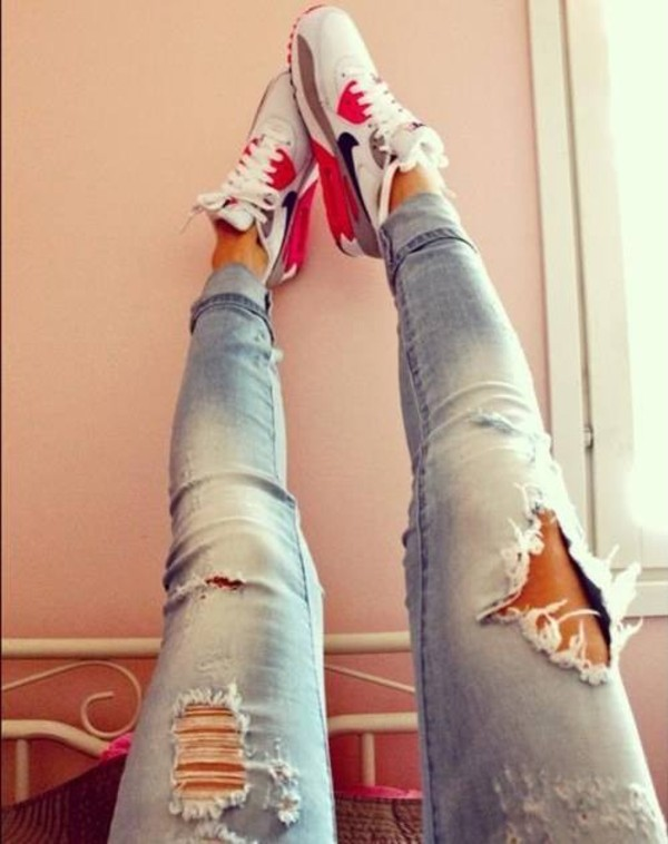 jeans air max shoes