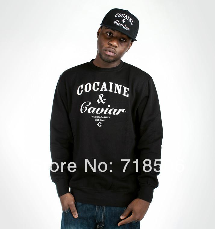 8d0bc52386b4 Aliexpress.com   Acquista cocain e caviale swag tumblr pantaloni a vita  bassa uomo felpa maglione maglione ...