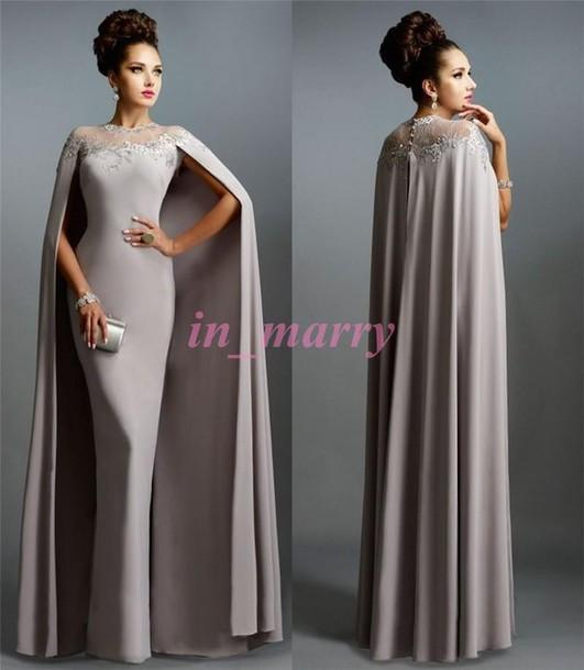Evening dress and coat