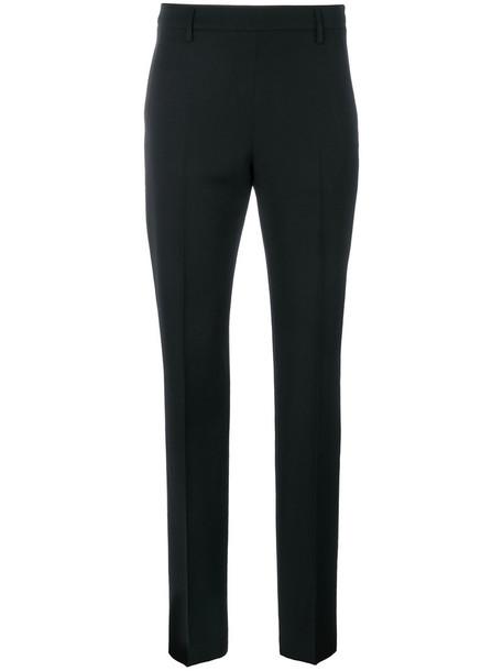 Tomas Maier women black wool pants