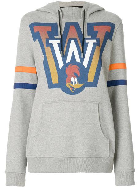 House of Holland sweatshirt women cotton print grey sweater